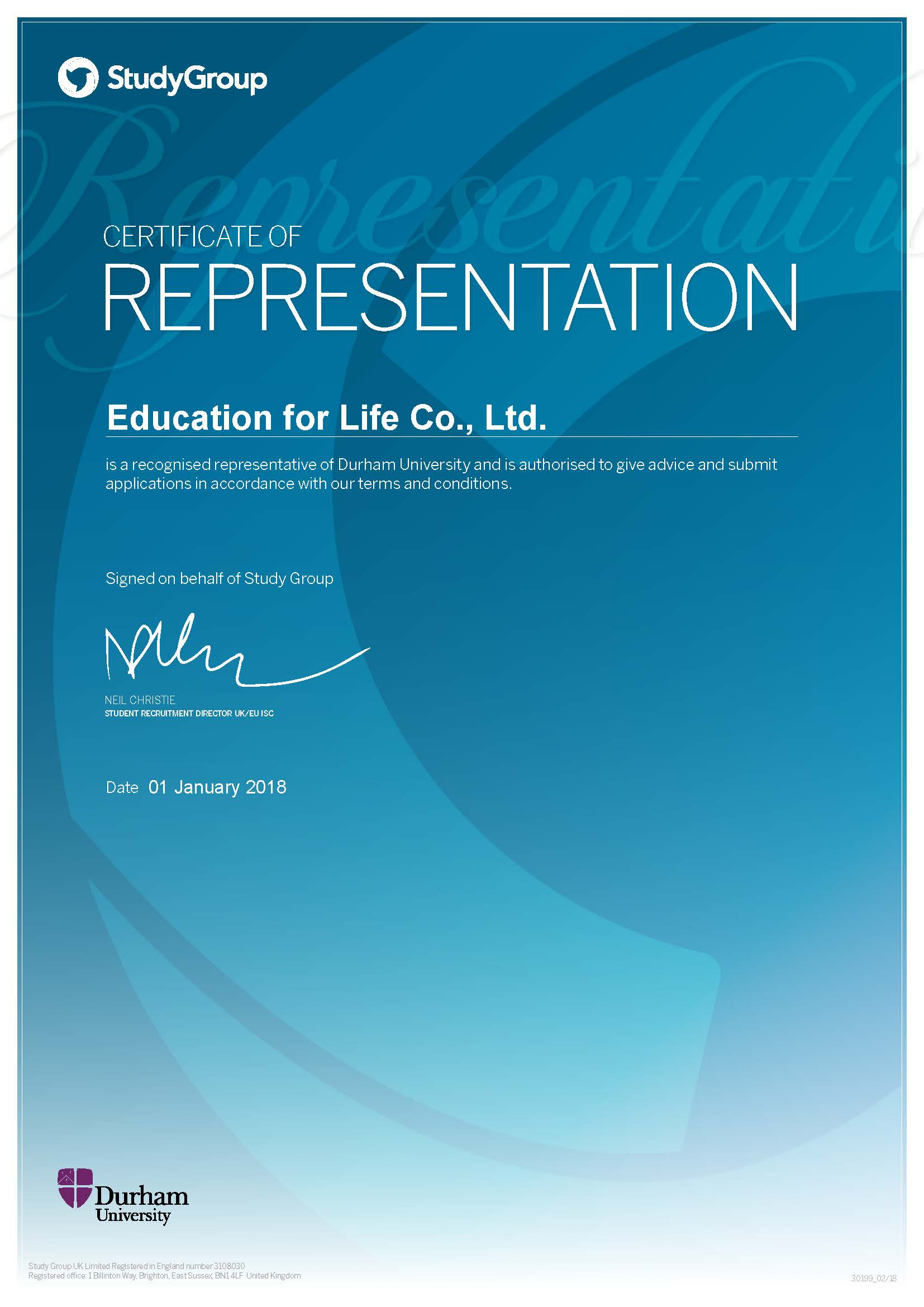Education for Life 1