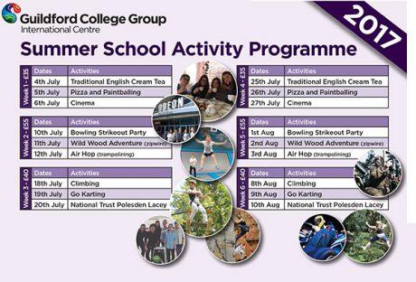 Summer School Activity Programme 2017