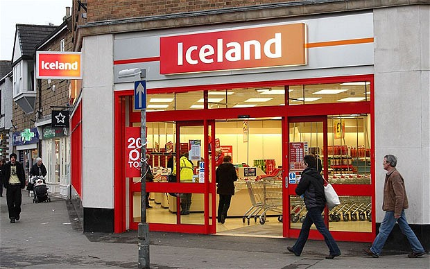 An Iceland Foods supermarket in a U.K. town.. Image shot 02/2010. Exact date unknown....BHEM41 An Iceland Foods supermarket in a U.K. town.. Image shot 02/2010. Exact date unknown.