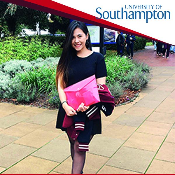 รีวิวจากน้อง Thanatkan เรียนที่ University of Southampton