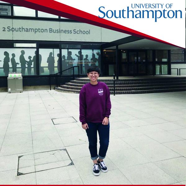 รีวิวจากน้อง Teerada เรียนที่ University of Southampton